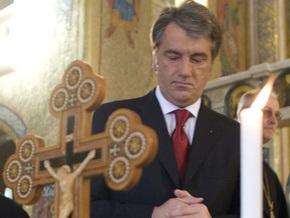 Ющенко призывал весь мир зажечь свечи в память о жертвах Голодомора
