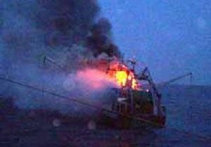 В акватории Абхазии возник пожар на турецком сухогрузе: госпитализирован матрос-одессит