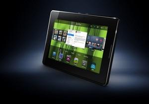 Производители  BlackBerry анонсировали планшет PlayBook