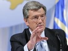 Сегодня Ющенко поучаствует в телепроекте на канале Украина