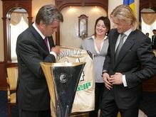 Фотогалерея: Тимощук, Ющенко и Кубок УЕФА
