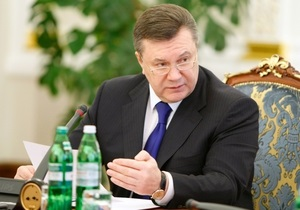 Янукович надеется на поддержку Казахстана в ОБСЕ