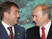 Путин познакомил Медведева с лидерами СНГ
