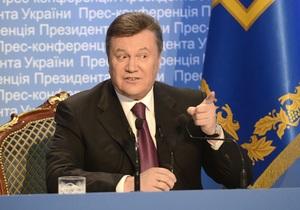 Янукович утвердил национальную программу сотрудничества Украина - НАТО