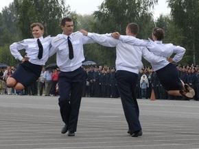 Фотогалерея: Как танцуют милиционеры
