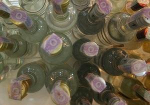 В Донецкой области обнаружили подпольный завод, который выпускал тысячи бутылок водки в час