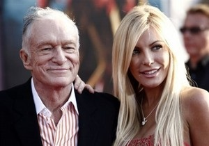 84-летний основатель Playboy Хью Хефнер объявил о своей помолвке