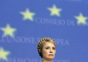 Тимошенко призвала Европу объединиться для борьбы с последствиями кризиса