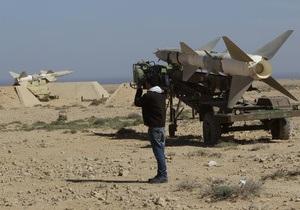 Силы Каддафи попытались атаковать итальянский фрегат