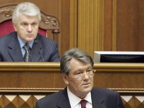 Литвин поражен обращением Президента к народу
