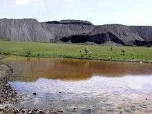 Экологии Донецкой области угрожают шахты и химзаводы