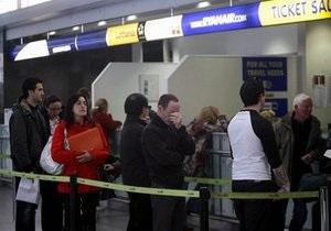 Испания закрывает аэропорты из-за вулканического облака