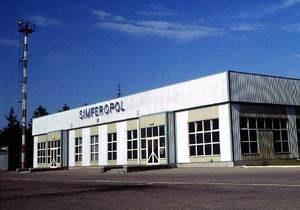 В Симферополе успешно приземлился самолет, у которого при вылете не закрылось шасси