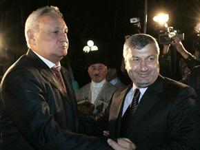 Президент Абхазии прибыл в столицу Южной Осетии