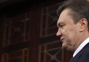 Янукович готовится к встрече с генсеком НАТО