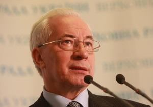 Азаров вспомнил о квотировании экспорта зерна