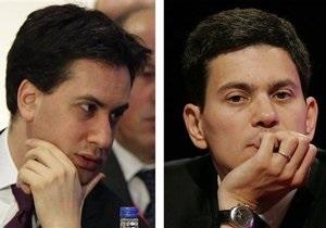 За пост лидера британских лейбористов борются родные братья