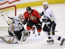 NHL: Сенаторы побеждают Пингвинов