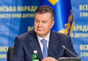 Янукович подписал закон о персональном голосовании в Раде