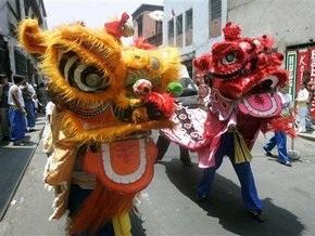 Сегодня в Китае встречают Новый год