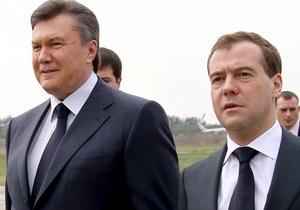 Янукович и Медведев проведут переговоры в Донецке