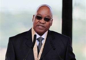 Президент ЮАР решил жениться в шестой раз