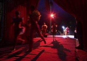 В Запорожской области закрыли цирк-шапито, во время выступления которого упала трибуна