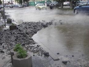 Состояние водопроводов Киева признали катастрофическим