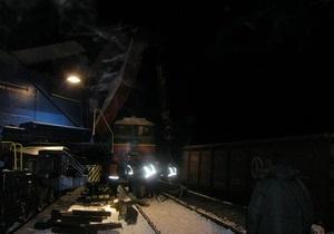 Свыше 400 человек работают над ликвидацией аварии грузового поезда в Сумской области