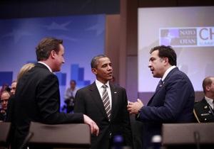 Саакашвили назвал срок вступления Грузии в НАТО