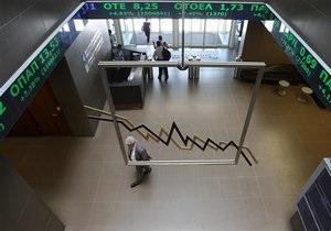 Обзор: Мировые фондовые индексы снизились, нефть и евро дешевеют