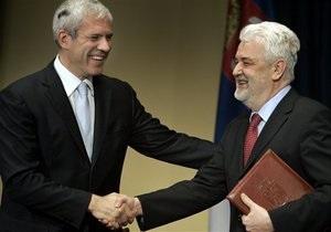 Сегодня Сербия подает заявку на вступление в Евросоюз