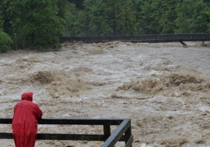 Наводнение в Варшаве: затоплены метро и ряд улиц