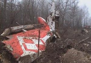 Во время катастрофы Ту-154 под Смоленском разлилось 30 тонн горючего