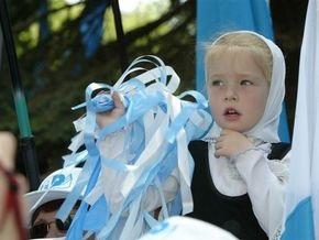 В Партию регионов приняли десятилетнюю харьковчанку