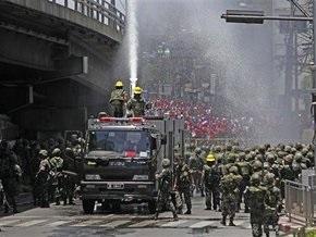 Таиландская армия вновь применила оружие против демонстрантов