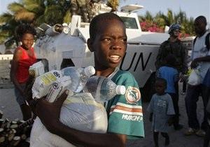 Британский ребенок собрал в помощь Гаити более 50 тысяч фунтов