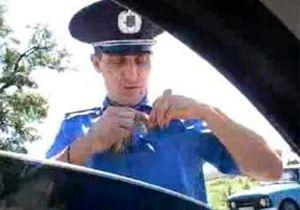 В Крыму уволен гаишник, который обматерил водителя
