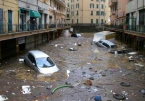 На юге Франции сотни людей эвакуированы из-за угрозы наводнения