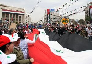 В Сирии в день празднования юбилея правящей партии были убиты более 100 человек