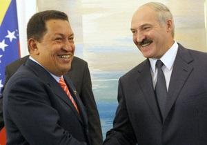 Лукашенко расплакался на церемонии прощания с Уго Чавесом