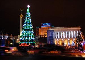 Новогодняя ночь на Майдане Незалежности: программа празднования