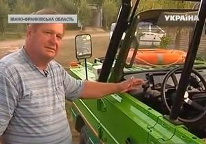 Украинец создал автомобиль-амфибию