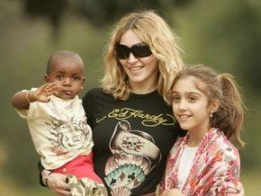 Мадонна прилетела в Малави для усыновления второго ребенка