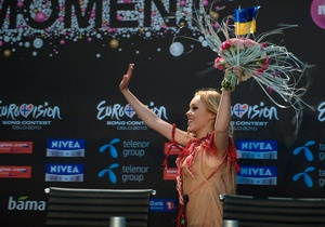 Фотогалерея: Ноты взяты. Украинская певица Alyosha прошла в финал Евровидения-2010