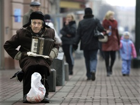 Больше половины россиян за последние пять лет ни разу даже не подали милостыню