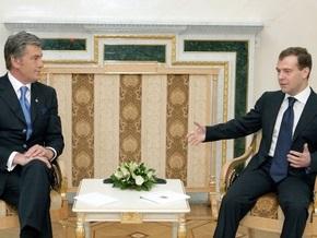 Ъ: Киев не направлял Москве официальный запрос о встрече Ющенко и Медведева