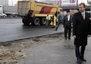 Дороги Киева - ГАИ назвало улицы, на которых сегодня проводятся ремонтные работы