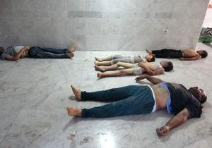 Франция: За применением химоружия в Сирии стоит армия Асада