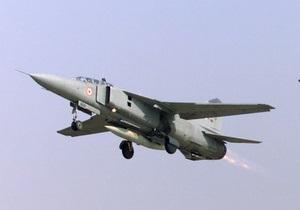 На востоке Индии разбился МиГ-27